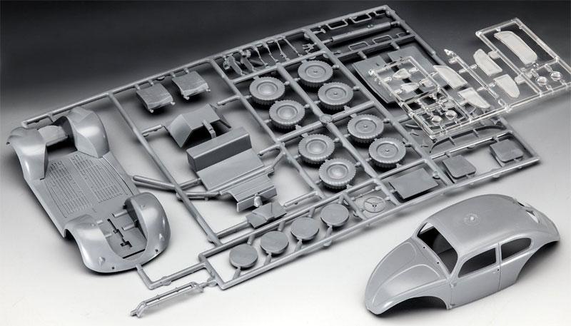 ドイツ タイプ 82E スタッフカープラモデル(レベル1/35 ミリタリーNo.03247)商品画像_1