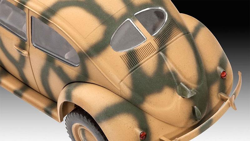 ドイツ タイプ 82E スタッフカープラモデル(レベル1/35 ミリタリーNo.03247)商品画像_4