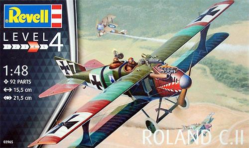 ローランド C.2プラモデル(レベル1/48 飛行機モデルNo.03965)商品画像