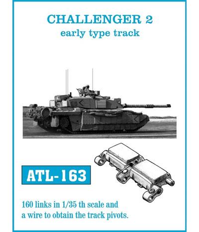 チャレンジャー 2 初期型 履帯メタル(フリウルモデル1/35 金属製可動履帯シリーズNo.ATL163)商品画像