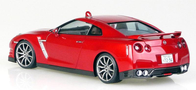 さらば あぶない刑事 R35 GT-Rプラモデル(アオシマ1/24 あぶない刑事No.003)商品画像_4