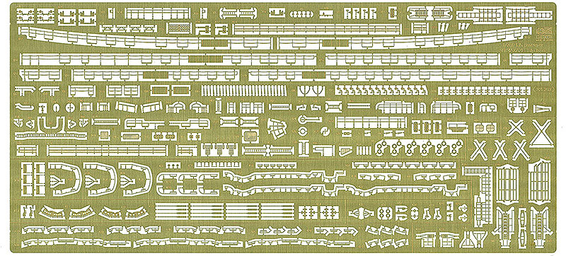 日本海軍 駆逐艦 島風 最終時 ディテールアップ エッチングパーツエッチング(ハセガワ1/350 QG帯シリーズNo.QG057)商品画像_1
