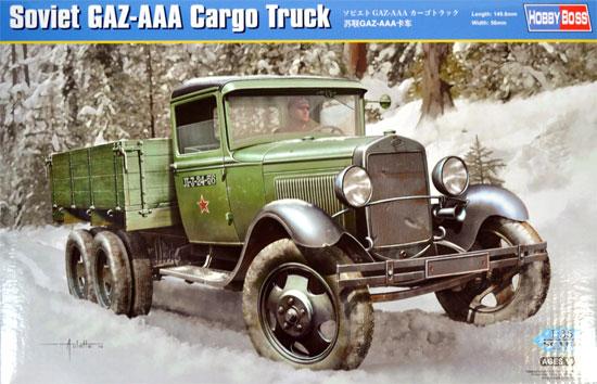 ソビエト GAZ-AAA カーゴトラックプラモデル(ホビーボス1/35 ファイティングビークル シリーズNo.83837)商品画像