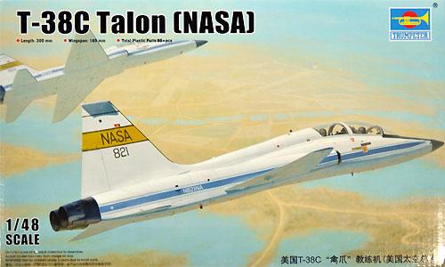 T-38C タロン NASAプラモデル(トランペッター1/48 エアクラフト プラモデルNo.02878)商品画像