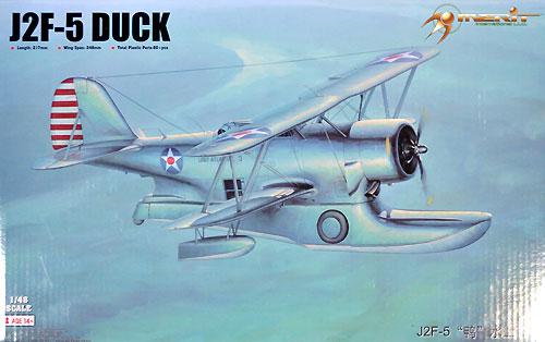 J2F-5 ダックプラモデル(メリットインターナショナル1/48 飛行機No.64805)商品画像