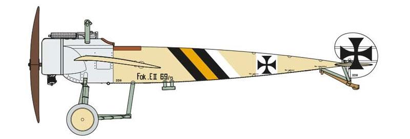 フォッカー E.2 アインデッカープラモデル(エアフィックス1/72 ミリタリーエアクラフトNo.A01086)商品画像_3