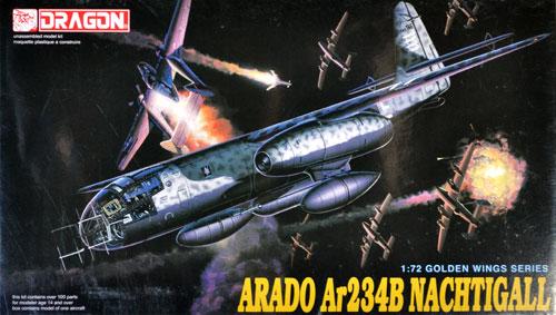 アラド Ar234B ナハティガルプラモデル(ドラゴン1/72 Golden Wings SeriesNo.5012)商品画像