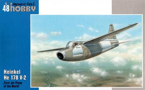 ハインケル He178V-2 世界初ジェット機プラモデル(スペシャルホビー1/48 エアクラフト プラモデルNo.48093)商品画像