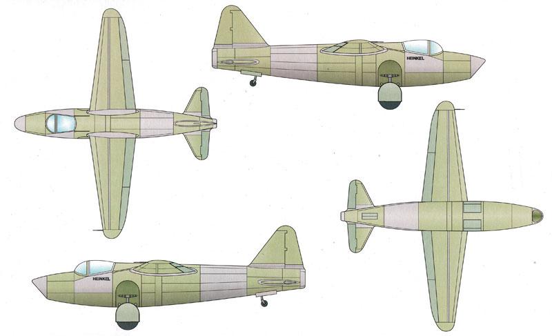 ハインケル He178V-2 世界初ジェット機プラモデル(スペシャルホビー1/48 エアクラフト プラモデルNo.48093)商品画像_1