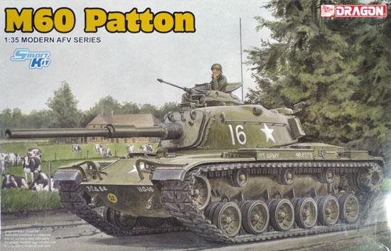 アメリカ M60 パットンプラモデル(ドラゴン1/35 Modern AFV SeriesNo.3553)商品画像