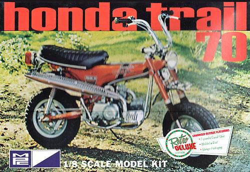 ホンダ トレイル 70 (ダックスホンダ ST70)プラモデル(MPCプラスチックモデルキットNo.MPC833/12)商品画像