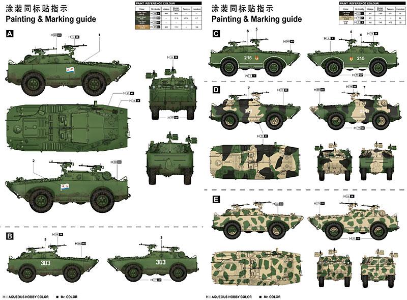 ロシア BRDM-1 軽装甲偵察車プラモデル(トランペッター1/35 AFVシリーズNo.05596)商品画像_1