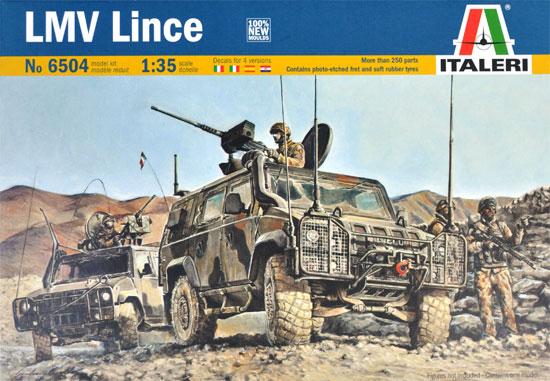 イタリア 軽装輪装甲車 リンチェプラモデル(イタレリ1/35 ミリタリーシリーズNo.6504)商品画像