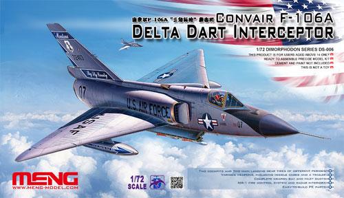 コンペア F-106A デルタダート要撃機プラモデル(MENG-MODELディモルフォドン シリーズNo.DS-006)商品画像