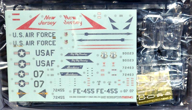 コンペア F-106A デルタダート要撃機プラモデル(MENG-MODELディモルフォドン シリーズNo.DS-006)商品画像_1