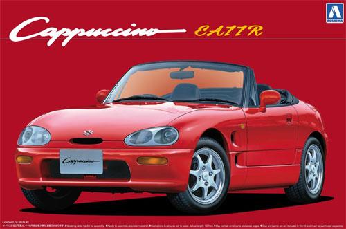 EA11R カプチーノプラモデル(アオシマ1/24 ザ・ベストカーGTNo.020)商品画像