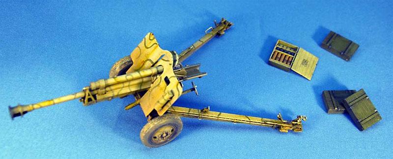 ドイツ 7.62cm FK39(r) 野砲プラモデル(ミニアート1/35 WW2 ミリタリーミニチュアNo.35104)商品画像_2