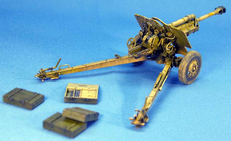 ドイツ 7.62cm FK39(r) 野砲プラモデル(ミニアート1/35 WW2 ミリタリーミニチュアNo.35104)商品画像_3