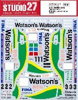 スタジオ27ツーリングカー/GTカー オリジナルデカールBMW 318i ワトソンズ マカオ ギア・レース 1993