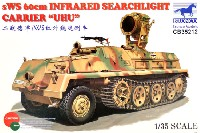 ブロンコモデル1/35 AFVモデルドイツ sWS ハーフトラック 装甲タイプ 赤外線照射型 ウーフー