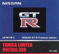 ニッサン GT-R プレミアムエディション 2014モデル (紺)