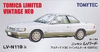 トミーテックトミカリミテッド ヴィンテージ ネオニッサン レパード アルティマ V30 ツインカムターボ (88年式) (白)