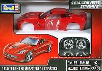 レベルカーモデル2014 コルベット スティングレイ