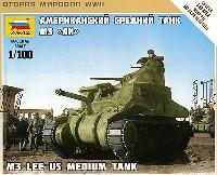 ズベズダART OF TACTICM3 リー アメリカ 中戦車