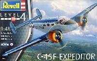 レベル1/48 飛行機モデルC-45F エクスペディター