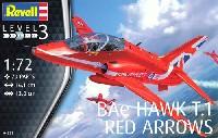 レベル1/72 飛行機Bae ホーク T.1 レッドアロー