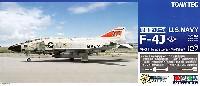 トミーテック技MIXアメリカ海軍 F-4J ファントム 2 VF-31 トムキャッターズ (ミグキラー)