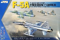 キネティック1/48 エアクラフト プラモデルF-5A/CF-5A/NF-5A フリーダムファイター