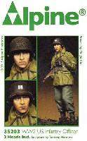 アルパイン1/35 フィギュアWW2 アメリカ軍 歩兵 (マッキーノコート)