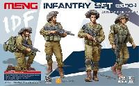 MENG-MODEL1/35 ヒューマン シリーズイスラエル 国防軍歩兵セット