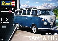 レベル1/16 カーモデル VW タイプ2 T1 サンババス