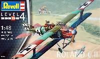 レベル1/48 飛行機モデルローランド C.2