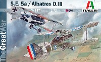 イタレリ1/72 航空機シリーズRAF S.E.5a / アルバトロス D.3