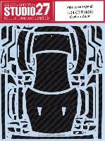 スタジオ27ツーリングカー/GTカー カーボンデカールニッサン GT-R (R35) カーボンデカール