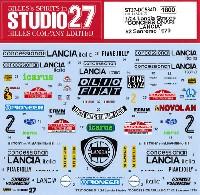 スタジオ27ラリーカー オリジナルデカールランチア ストラトス CONCESSIONARI LANCIA #2 サンレモ 1979