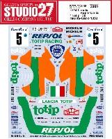 スタジオ27ラリーカー オリジナルデカールランチア スーパーデルタ Totip #5 モンテカルロ 1993