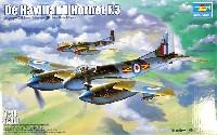 トランペッター1/48 エアクラフト プラモデルデ・ハビランド ホーネット F.3