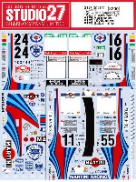スタジオ27ラリーカー オリジナルデカールランチア スーパーデルタ マルティーニ #2#4 ポルトガル/#1#6 アクロポリス/#1#3 1000湖/#1#5 サファリ 1992