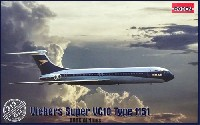 ローデン1/144 エアクラフトビッカース スーパー VC10 Type1151 英国海外航空