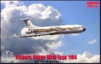 ローデン1/144 エアクラフトビッカース スーパー VC10 Type1154 東アフリカ航空