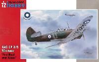 スペシャルホビー1/72 エアクラフト プラモデルCAC CA-3/5 ワイラウェイ ラバウル戦