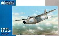 スペシャルホビー1/48 エアクラフト プラモデルハインケル He178V-2 世界初ジェット機
