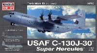 ミニクラフト1/144 軍用機プラスチックモデルキットアメリカ空軍 C-130J-30 スーパーハーキュリーズ