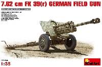 ミニアート1/35 WW2 ミリタリーミニチュアドイツ 7.62cm FK39(r) 野砲