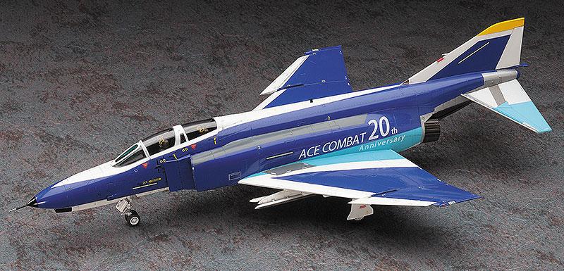 F-4E ファントム 2 エースコンバット 20周年記念塗装機プラモデル(ハセガワクリエイター ワークス シリーズNo.SP337)商品画像_2