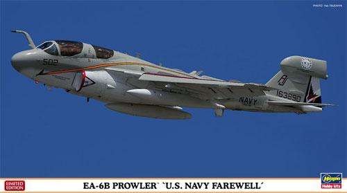 EA-6B プラウラー U.S.ネイビー フェアウェルプラモデル(ハセガワ1/72 飛行機 限定生産No.02183)商品画像